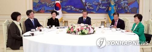 Moon: Trotz Gipfel-Plänen keine Erleichterung von Nordkorea-Sanktionen geplant