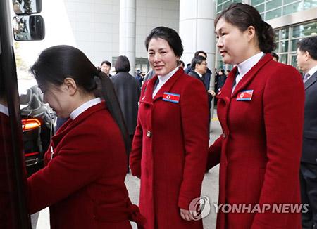 Llega a Corea del Sur la selección paralímpica norcoreana