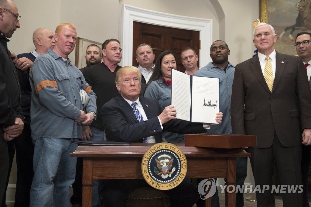 USA verhängen auch gegen Südkorea Einfuhrzölle auf Stahl und Aluminium
