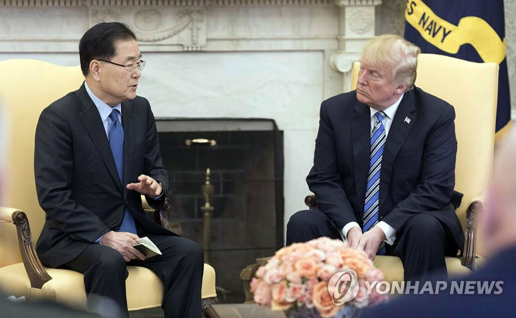 Moon's Envoys to Return Home from US Trip
