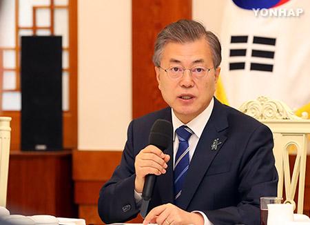 Präsident Moon kritisiert Parlament wegen ausbleibender Forschritte für Verfassungsänderung