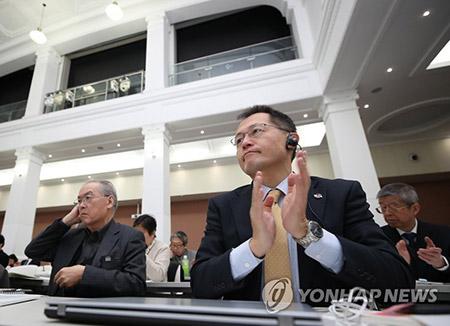 """한일 시민단체 한자리서 평화선언…""""일본 평화헌법 지켜야"""""""