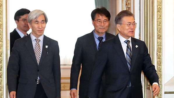 Moon to Submit Own Bill on Constitutional Revision Next Week