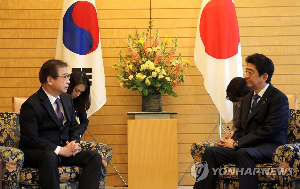 Abe Highly Assesses Talks with North on Precondition of Denuclearization