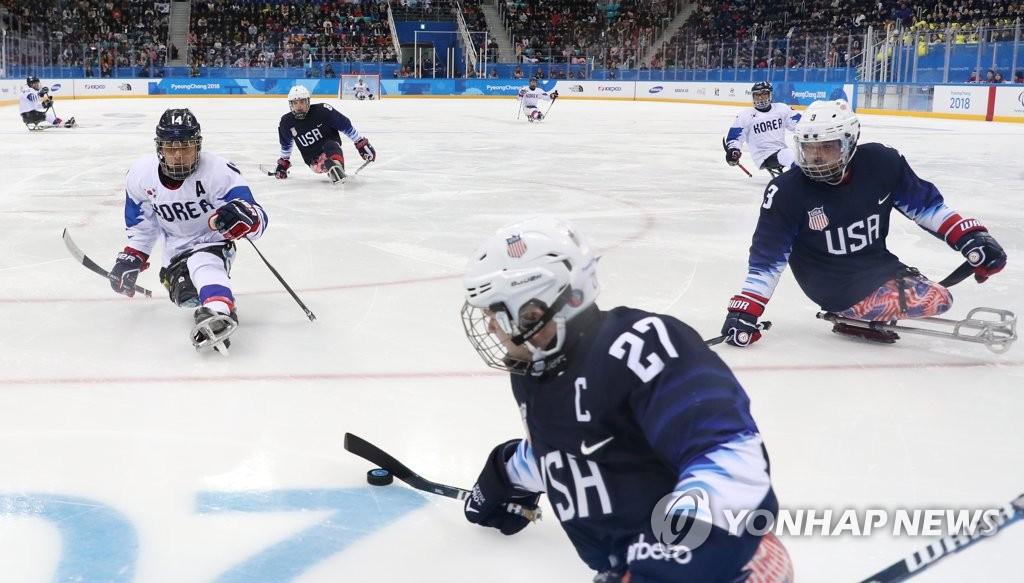 S. Korean Para Ice Hockey Team to Face Canadian Rivals in Semis Thursday
