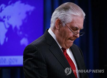 Tillerson: Maximale Druckausübung gegenüber Nordkorea erfolgreicher als erwartet