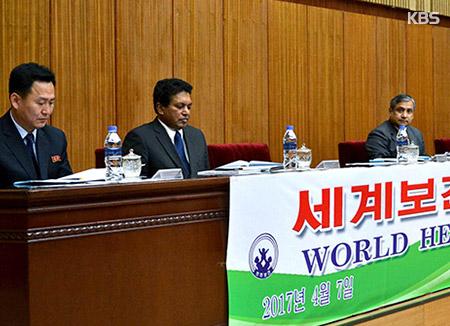 北韩抗议全球基金中断对北援助