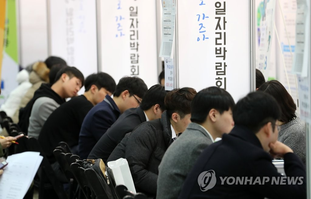 S. Korea's Job Growth Falls to 8-Year Low in February