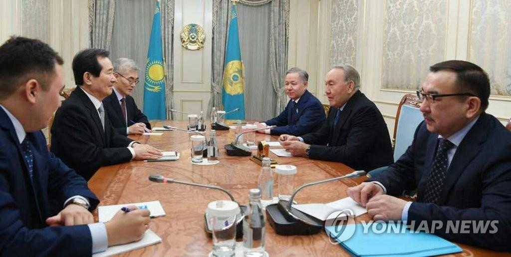 Спикер Национального собрания РК встретился с президентом Казахстана