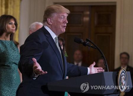 """트럼프 """"김정은과 만남은 40년만에 가장 위대한 일이자 기적"""""""
