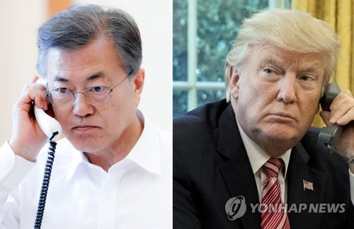 Moon, Trump in Lockstep before Engagements with N. Korea