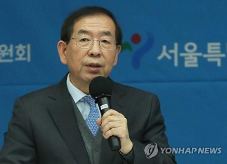 北韓高官がソウル市長を招待  年内に訪朝か