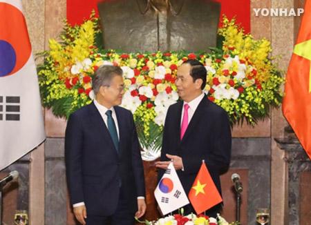 Corea del Sur y Vietnam celebran una cumbre