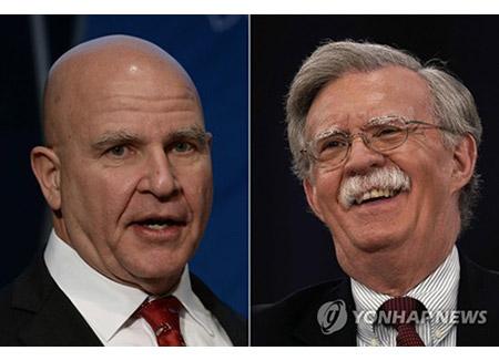 """US-Präsident ersetzt Sicherheitsberater McMaster durch """"Falken"""" Bolton"""