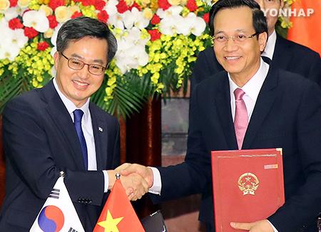 Hàn Quốc và Việt Nam nhất trí cùng đối phó với chủ nghĩa bảo hộ mậu dịch
