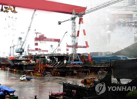 韓国の造船業、4か月連続受注1位