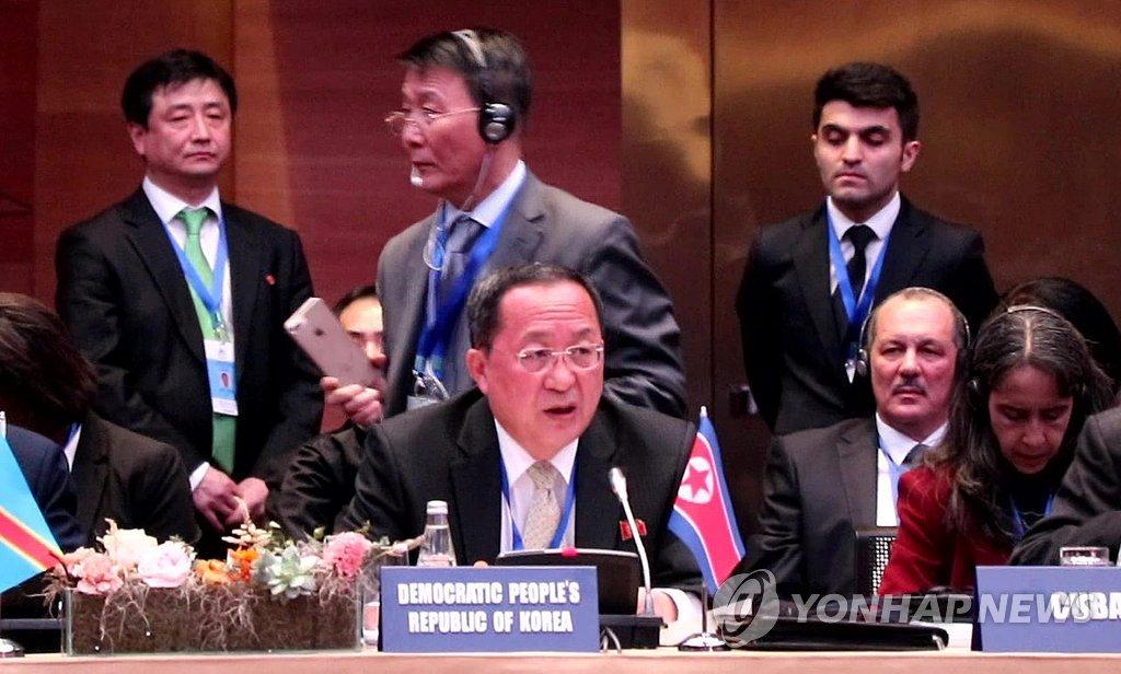 北韩在俄罗斯和欧洲积极展开外交活动 李勇浩称南北韩团结一致将可实现统一