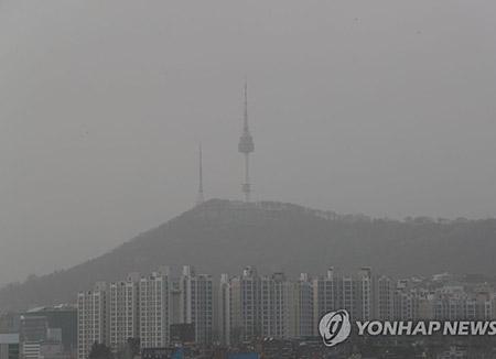 韩国微尘排放比例有所增加