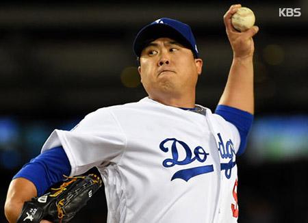 Dodgers' Ryu Hyun-jin Earns Season's 2nd Consecutive Win