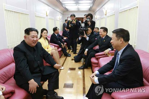 Kim meets Chinese official, calls for strengthening ties