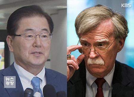 博尔顿与郑义溶通话 商讨北韩副外相言论意图