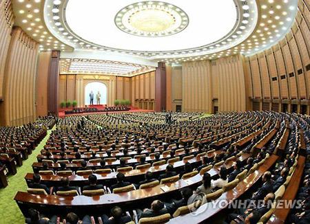 北韓 来月11日に最高人民会議