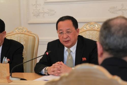 وزير خارجية كوريا الشمالية يناقش مشروعا لوجستيا في روسيا