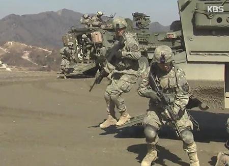 驻韩美军兵力仍然保持28,500名不变