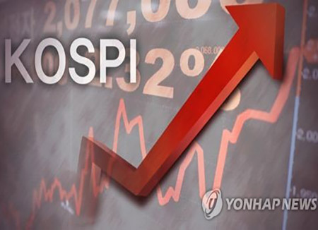 Indeks Harga Saham Gabungan Korea Mengalami Sedikit Kenaikan