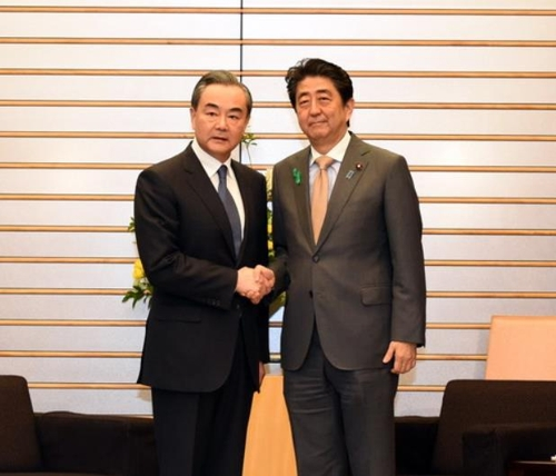 Chinese FM Discusses N. Korea's Nuke Issue with Japanese PM