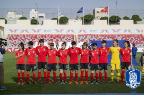 S. Korea Qualify for 2019 FIFA Women's World Cup