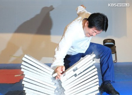 Guinness des records : 10 000 taekwondoïstes participent à une démonstration géante devant le Parlement