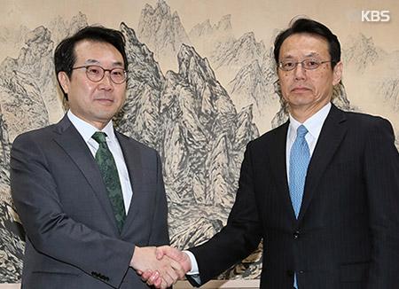 韓日高官が電話会談 金委員長の訪中結果など議論