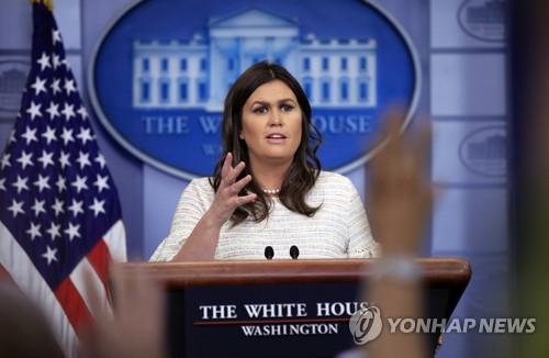 白宫:韩半岛完全无核化之前,不会轻易放缓对北韩制裁力度