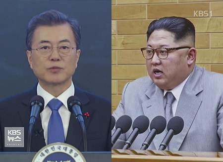 남북정상 27일 오전 첫 만남…공식 환영식 연다