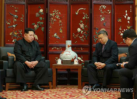 Kim Jong-un Visits Chinese Embassy and Offers Condolences over Deadly Bus Crash