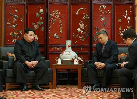 북한 김정은, 중국 여행객 교통사고 직후 중국 대사관 찾아 위로