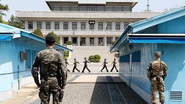 Südkorea führt Probe für Korea-Gipfel durch