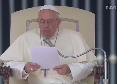 Đức Giáo hoàng cầu nguyện cho sự thành công của Hội nghị thượng đỉnh liên Triều