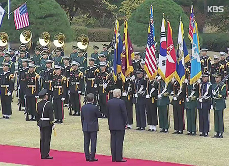 Nordkoreas Machthaber wird am Gipfeltag Ehrenformation abschreiten