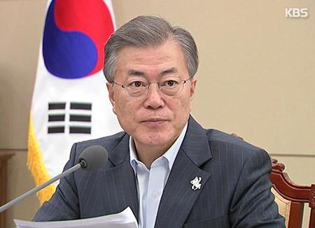 Präsident Moon widmet sich Vorbereitung auf Korea-Gipfel