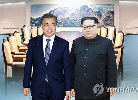 Moon Jae-in à pied d'œuvre pour le sommet avec Kim Jong-un