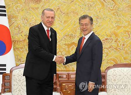 S. Korea, Turkey Agree to Enhance Bilateral Ties, Cooperation