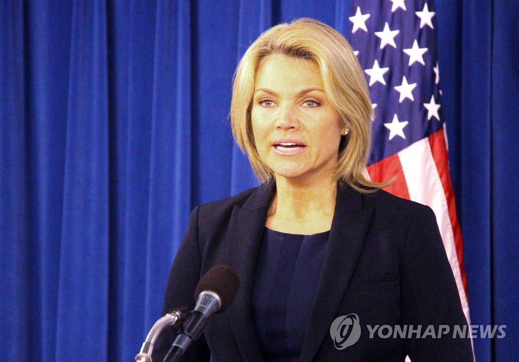北韓の経済開放も議題か 米ナウアート報道官