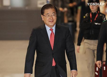 北韓の非核化で米側と協議 国家安保室長