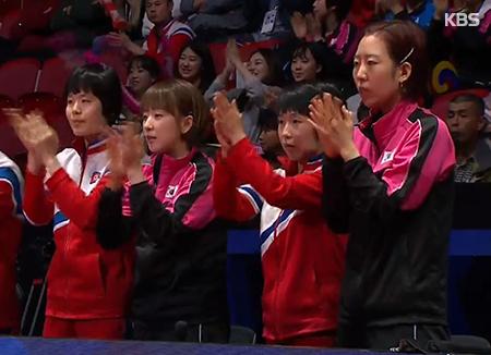 Mondiaux de tennis de table : l'équipe intercoréenne battue par le Japon en demi-finales