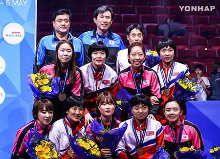 卓球南北合同チーム アジア大会でも結成へ