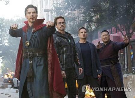 '1조 3천억' 수익 올린 어벤져스3, 전 세계 흥행 1위 국가는 한국