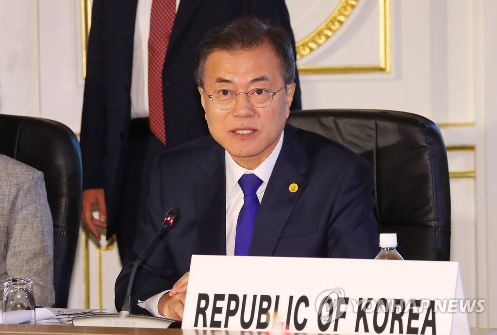 Moon Support from China Japan Essential on Road to Peace on Peninsula