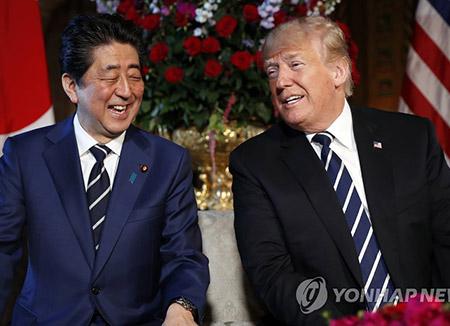 Trump und Abe bestätigen gemeinsames Ziel der Denukearisierung Nordkoreas
